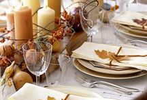 Thanksgiving Dinner Party Planning / All the lovely #tablescapes, #decor, #food, and special touches that bring a Thanksgiving Dinner Party together. / by katie: normal girl