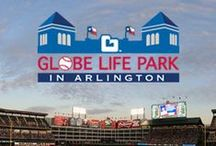 Globe Life Park in Arlington - Texas Rangers / Globe Life is now the Official Life Insurance Company of the Texas Rangers. Learn more about Globe Life Park in Arlington, TX,  by heading to www.GlobeLifePark.com. Let's root for the home team: Go Rangers!