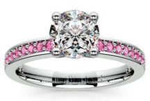 Pink Sapphire Collection / Brilliance.com creates the most beautiful pink sapphire engagement rings, pink sapphire wedding rings, pink sapphire earrings, pink sapphire necklaces & more. For more information about a specific piece, contact us at 1-866-737-0754 or service@brilliance.com