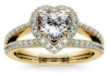Heart Diamond Rings Collection / Customize your wedding ring or engagement ring with a heart diamond from brilliance.com. For more information about a specific piece, contact us at 1-866-737-0754 or service@brilliance.com
