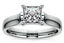 White Gold Engagement Rings / Our selection of beautiful white gold diamond engagement rings are custom made to order here at brilliance.com. For more information about a specific piece, contact us at 1-866-737-0754 or service@brilliance.com