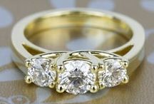 Gold Wedding / Creating a gold themed wedding and need a little pinspiration? This board is for you! Brilliance.com is one of the leading retailers of diamonds, engagement rings, wedding rings, and fine jewelry.