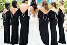 Black Wedding / Creating a beautiful black themed wedding and need a little pinspiration? This board is for you! Brilliance.com is one of the leading retailers of diamonds, engagement rings, wedding rings, and fine jewelry.