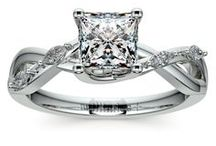 Princess Cut Diamond Rings Collection / Customize your wedding ring or engagement ring with a princess cut diamond from brilliance.com. For more information about a specific piece, contact us at 1-866-737-0754 or service@brilliance.com