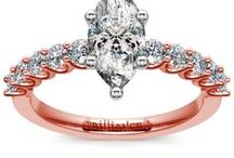 Marquise Diamond Rings Collection / Customize your wedding ring or engagement ring with a marquise diamond from brilliance.com. For more information about a specific piece, contact us at 1-866-737-0754 or service@brilliance.com