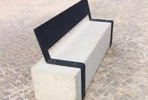 BANCO DE JARDIM l PARK BENCH / Dê mais personalidade ao seu jardim! Add more personality to your garden! #acl #aclouro #acimenteiradolouro #cimenteira #betao #concrete #bancosdejardim #bench #garden #architecture #arquitectura #architektur
