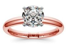 Rose Gold Engagement Rings / Brilliance.com is featuring a new line of our most popular engagement and wedding rings in rose gold. For more information about a specific piece, contact us at 1-866-737-0754 or service@brilliance.com