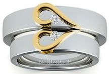 Matching Wedding Rings / Match your spouse with our unique line of matching wedding rings! For more information about a specific piece, contact us at 1-866-737-0754 or service@brilliance.com