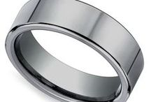 Tungsten Collection Men's Wedding Rings / Our Tungsten Men's wedding rings are designed with the modern groom in mind! Need assistance or looking to get some advice before a purchase? For more information about a specific piece, contact us at 1-866-737-0754 or service@brilliance.com