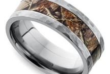 Camo Men's Wedding Rings / Designed with the modern groom in mind, our selection of camo men's wedding rings are the perfect option for the hunter in your life. For more information about a specific piece, contact us at 1-866-737-0754 or service@brilliance.com