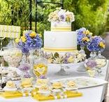 Yellow and Lavender Wedding / Creating a yellow lavender themed wedding and need a little pinspiration? This board is for you! Brilliance.com is one of the leading retailers of diamonds, engagement rings, wedding rings, and fine jewelry.