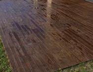 Moradia Mod. 580 - Deck  l  House Mod. 580 - Deck / Veja como ficou! Moradia Pavimento de betão - Madeira Mod. 580/7 - DECK Cliente - Medidas Práticas -- Take a look! House Concrete flooring - Madeira Mod. 580/7 - DECK Client - Medidas Praticas