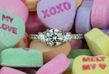Be My Valentine! / Love is certainly in the air! Find the perfect inspirations and engagement ring just in time for the perfect Valentine's Day proposal.