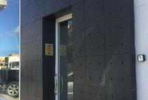 Obra em Malta - HANDO   Work done in Malta - HANDO / As fachadas funcionam como cartão de visita dos edifícios! Veja como ficou esta magnifica obra em Gozo, Malta. Revestimento de betão  Hando  -- Facades are the business card of buildings! Take a look this wonderfull work in Gozo, Malta Wall concrete tiles  Hando