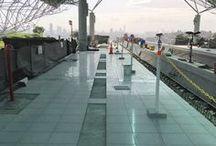 Metro Panamá | Underground Panamá / Metro - Panamá  Veja mais esta fantástica obra em curso!  Pavimento de betão  Marmocim -- Underground - Panamá  Take a look this amazing work in progress!  Concrete flooring  Marmocim