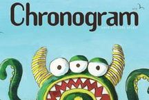 2012 Chronogram Covers / Here are the 2012 Covers from Chronogram, a Hudson Valley Magazine featuring the work of Hudson Valley artists on its cover. While Chronogram's art directors have taken the cover in different stylistic directions, a tacit connection remains. Each magazine cover represents the artistic vitality of the Hudson Valley—further proof that this region is a cultural hub.