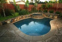 Pool and Hot Tub / We have a small yard but would love to someday have a small pool or hot tub.   / by Jen