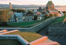 Old Quebec // Vieux-Québec  / Old Québec, a UNESCO world heritage treasure, is alive with history. // Élevé au rang de « joyau du patrimoine mondial » par l'UNESCO, le Vieux-Québec respire l'histoire.