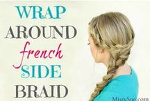 Hair Style Ideas / Headbands and hairclips, bobby pins, and hair jewelry - weave easy looks into your everyday routine!
