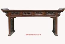 Altar tables,Buffet table,Coffee Table / Golden Lotus Antiques  2049 El camino real San Mateo, CA 94403 tel: 650-522-9888 goldenlotusinc@yahoo.com  http://stores.ebay.com/Golden-Lotus-Antiques-And-Furniture