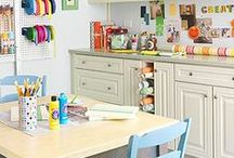 Craft rooms I love