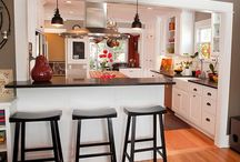 Ideas - Kitchen and Dining Room  / by Jen