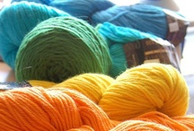 knit – crochet – yarn