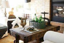Ideas - Living Room, Fireplace / by Jen