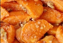 Side dishes - sweet potatoes / sweet potatoes / by Donna Bailey