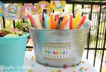 Outdoor Party Ideas / Need some outdoor party ideas and inspiration? We have you covered! From fun activities to play outside to party decorations and goodies.