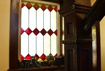 Stained Glass - Window Privacy Ideas