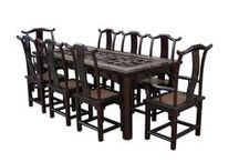 Dinning table and chairs / ll style of Chinese antiques dinning tables and chair