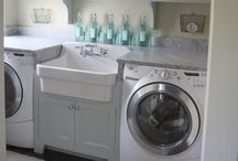 Ideas - Laundry Room / Design and hints for the boring chore / by Jen