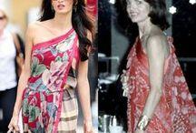 Style Crush: Amal Alamuddin / Outfits worn by Amal Alamuddin Clooney