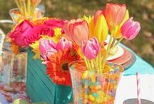 Spring Parties / Spring has sprung and it's time to party! Find the best Spring theme party ideas, from party themes to party décor!