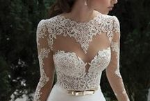 Wedding Dresses With Sleeves / Long sleeves have never been so amazing as they are now in bridal!!!  Take a peek and come on in to try some on... Call us to try gowns on in our Seattle, Indiana, Michigan, and NYC showrooms 1-800-480-5519