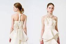 Gowns by Neckline: Crumb Catcher / Wedding dresses with crumbcatcher neckline