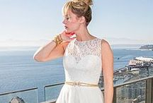 Gowns by Neckline: Illusion (Sheer) / Wedding dresses with illusion necklines