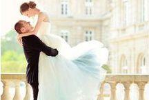 Gowns By Color: Light Blue / Wedding dresses, bridesmaids gowns and evening dresses in light blue, baby blue, powder blue