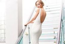 Gowns by Detail: Stunning Backs / Wedding dresses with showstopping back detail: portrait back, illusion back, keyhole back, plunging back, etc