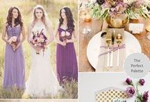 Wedding Themes / Color palettes and style inspiration mood boards for your wedding.