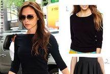 Style Crush: Victoria Beckham / Outfits worn by Victoria Beckham