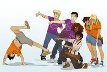 Greek and Romans / Percy Jackson and every Hero of the Olympus