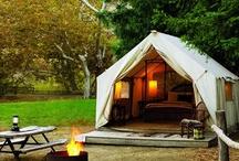 posh camping