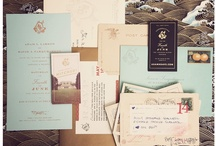 Invitation and Stationery Design / by Ashleigh Davis Graber
