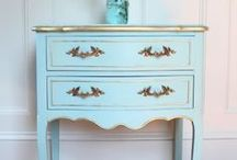 Painted furniture inspiration / Painted furniture ideas to try