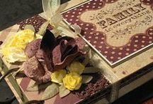 Books - My Hand Made Creations / Scrapbooks & Journals I Make / by Cathy Childs Morrison