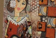 Mixed Media / Mixed media, mine and others. / by Cathy Childs Morrison