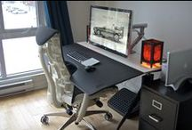 Home Office / A selction of images of great home setups