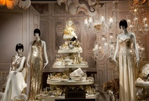 Visual Merchandising Window Design Inspirations - Chandeliers / by WindowsWear